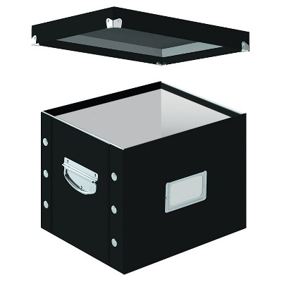 Snap-N-Store® Letter Size Box File - Black