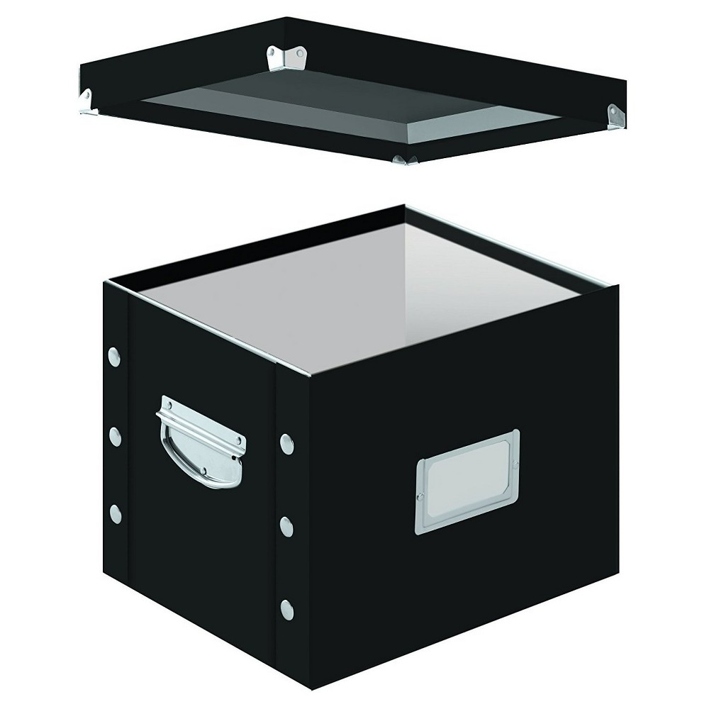 Image of Snap-N-Store Letter Size Box File - Black