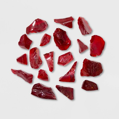 Recycled Fire Pit Fire Glass - Red - AZ Patio Heaters - image 1 of 1