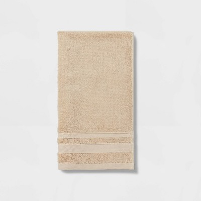 Performance Hand Towel Tan - Threshold™