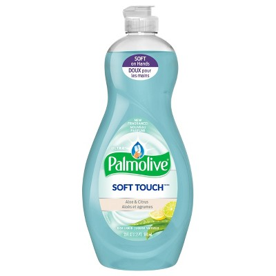 Dish Soap: Palmolive Soft Touch