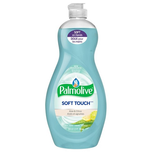 Palmolive Ultra Dishwashing Liquid Dish Soap - Soft Touch Aloe and Citrus - 20 fl oz - image 1 of 3