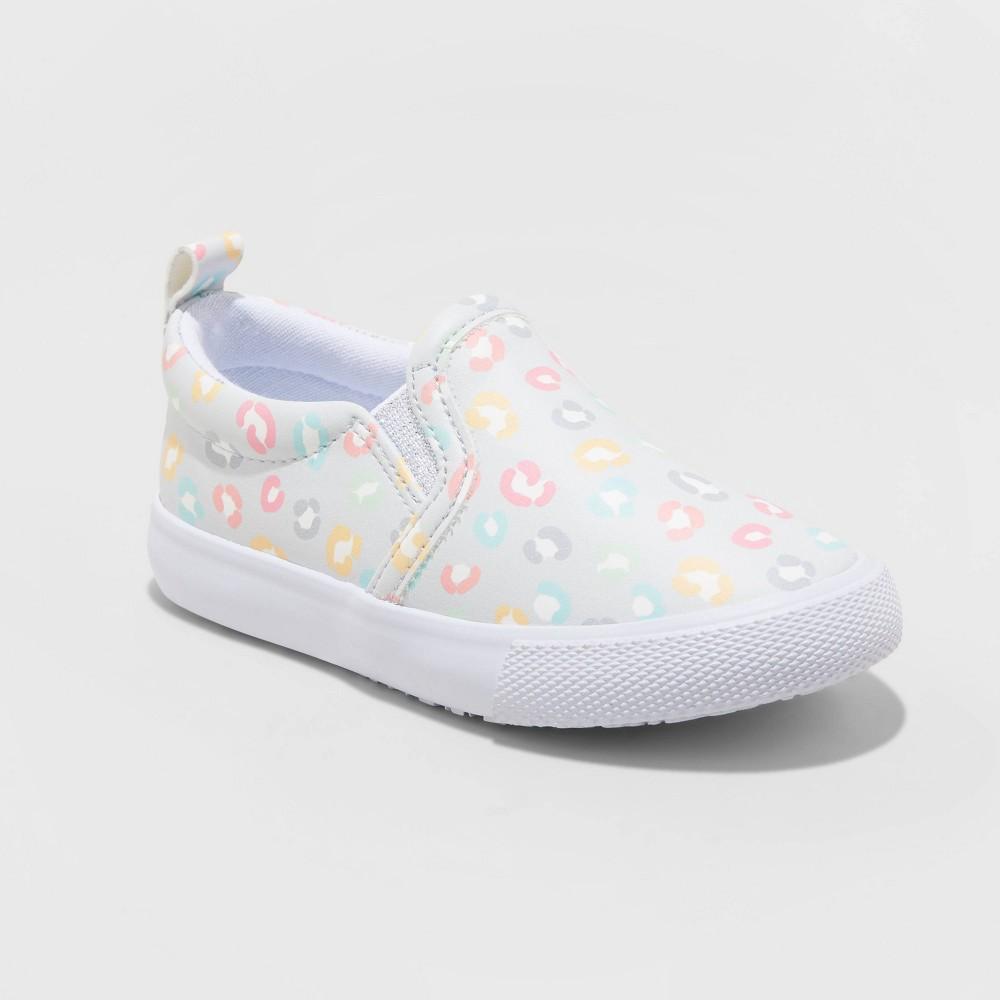 Toddler Girls 39 Alexus Leopard Print Slip On Sneakers Cat 38 Jack 8482 12