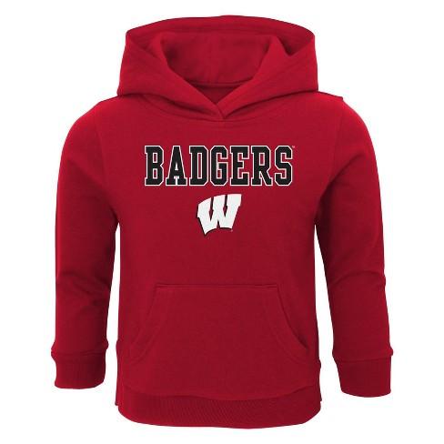 NCAA Wisconsin Badgers Boys' Hoodie - image 1 of 1