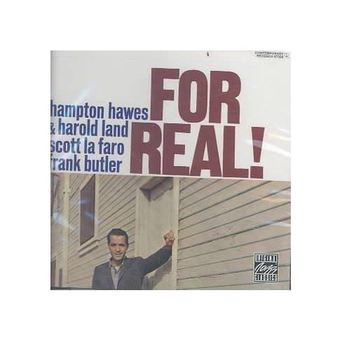 Hampton Hawes - Hampton Hawes for Real (CD) - image 1 of 1