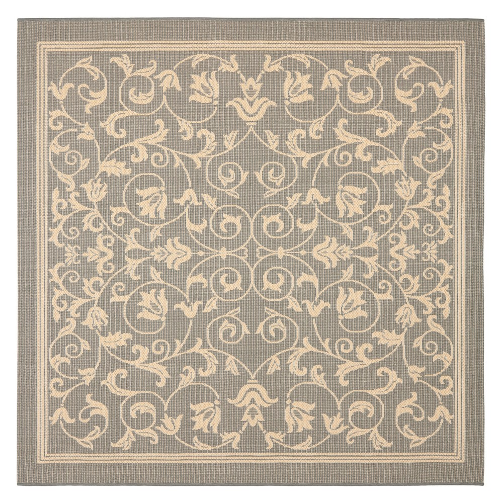 Buy 710X710 Vaucluse Outdoor Rug Gray Natural - Safavieh
