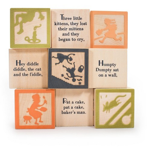 Uncle Goose Nursery Rhyme Blocks - image 1 of 3