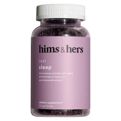 hims & hers Sleep Gummies - Melatonin - Pomegranate Berry Flavor