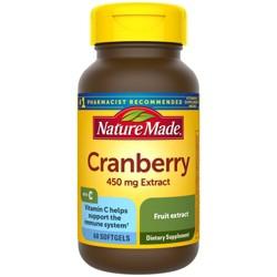 Nature Made Super Strength Cranberry Dietary Supplement Softgels