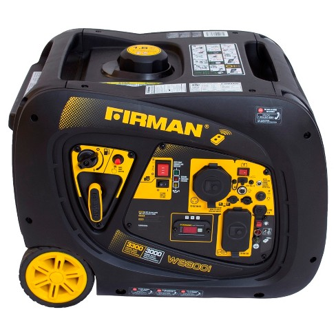 3000/3300W Portable Gas Inverter w/Electric Start & Remote Start-Non-CARB Compliant - Black - Firman Power - image 1 of 5