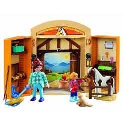Playmobil Play Box Horses