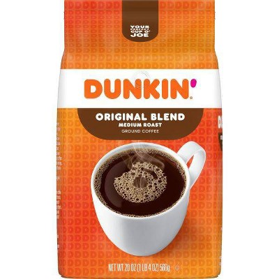 Dunkin' Original Blend Ground Coffee Medium Roast - 20oz