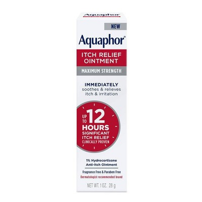 Aquaphor 1% Hydrocortisone Itch Relief Ointment - 1oz
