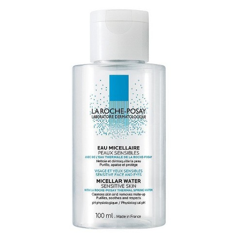 La Roche - Posay Micellar Cleansing Water for Sensitive Skin - Cleanser and Makeup Remover - 100ml - image 1 of 2