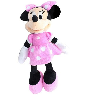 Just Play Disney Mickey Mouse Clubhouse 15.5 Inch Plush - Minnie Pink Dress