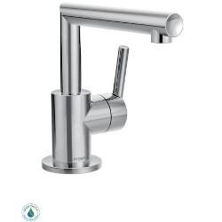 Moen S43001 Arris Single Handle Single Hole Bathroom Faucet