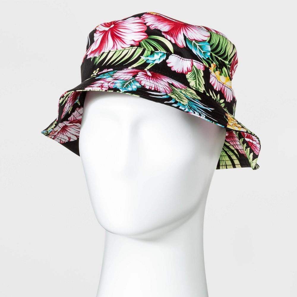 Women's Vintage Hats | Old Fashioned Hats | Retro Hats Men39s Floral Print Bucket Hat - Original Use8482 Pink $15.00 AT vintagedancer.com