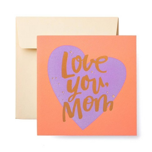 Love You Mom Mother S Day Card Target