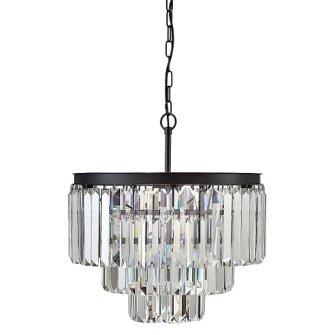 Round Crystal Chandelier With 9 Lights