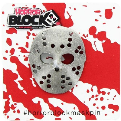 Nerd Block Friday the 13th Jason Voorhees Hockey Mask Pin