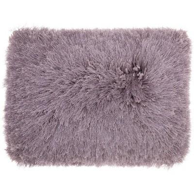 Yarn Shimmer Shag Throw Pillow - Mina Victory