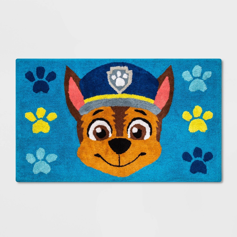 """Image of """"PAW Patrol 2'6""""""""x3'8"""""""" Chase the Call Accent Rug"""""""