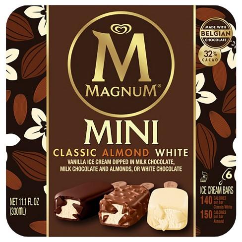 Magnum Classic/Almond/White Assorted Mini Ice Cream Bars- 6ct - image 1 of 4