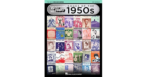 Songs of the 1950s (Paperback) - image 1 of 1
