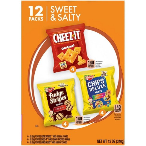 Keebler Cookies and Crackers Variety Pack - 12ct - image 1 of 4