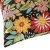 Set of 2 Jungle Floral Outdoor Square Throw Pillows - Kensington Garden - image 3 of 3
