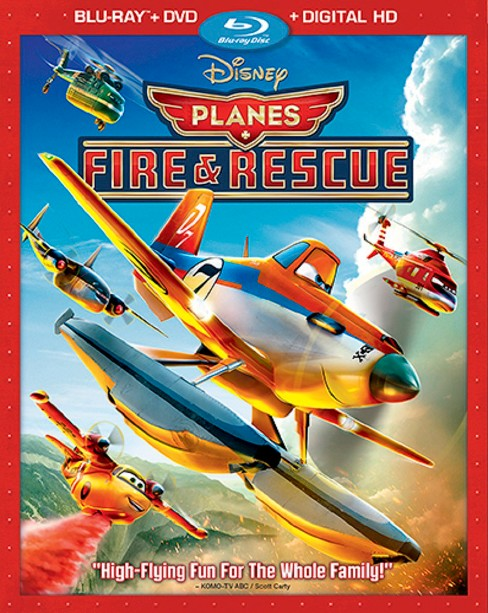 Planes: Fire & Rescue (2 Discs) (Includes Digital Copy) (Blu-ray/DVD) - image 1 of 1