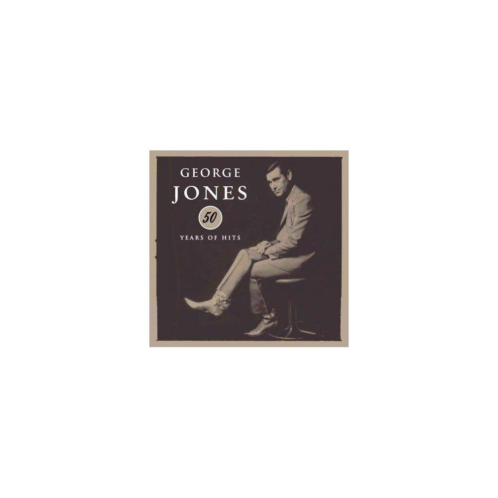George Jones 50 Years Of Hits 3 Cd