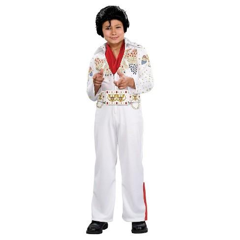 Elvis Presley Deluxe Elvis Kid s Costume White - 2T   Target 39d89c122c3c