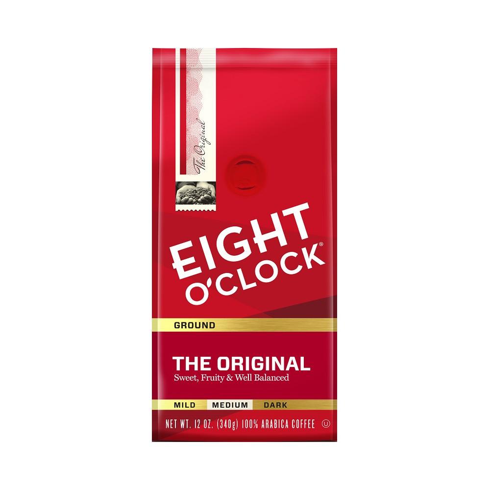 Eight O'Clock Original Medium Roast Ground Coffee - 12oz