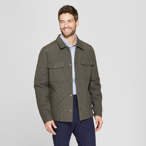 Men's Quilted Shirt Jacket - Goodfellow & Co™ - image 1 of 2