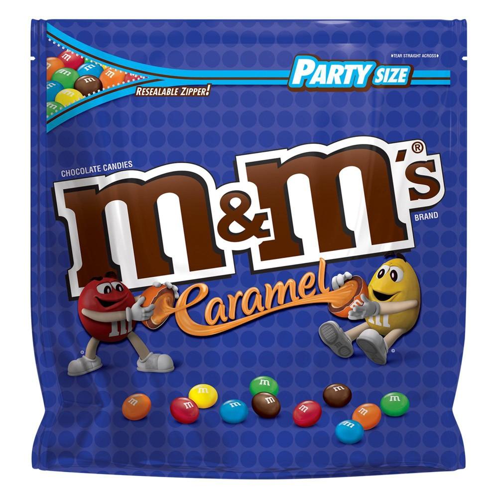 M 38 M 39 S Party Size Caramel Candies 34oz