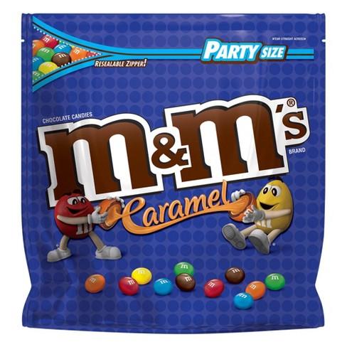 M M S Party Size Caramel Candies 34oz Target