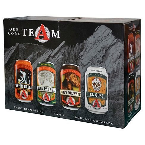 Avery Core Team Variety Beer Pack  - 12pk/12 fl oz Cans - image 1 of 1