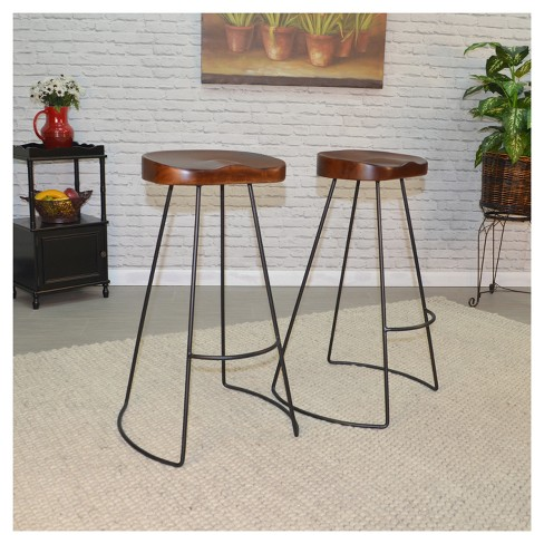 Vale 30 Bar Stool Set Of 2 Carolina Chair And Table Target