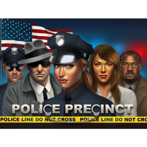 Police Precinct (1st Edition) Board Game - image 1 of 1