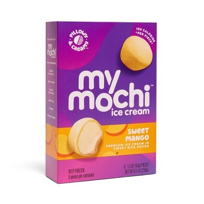 My/Mochi Mango Ice Cream - 6pk