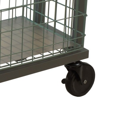 Cart System With Wheels 3 Tier Green - Atlantic : Target