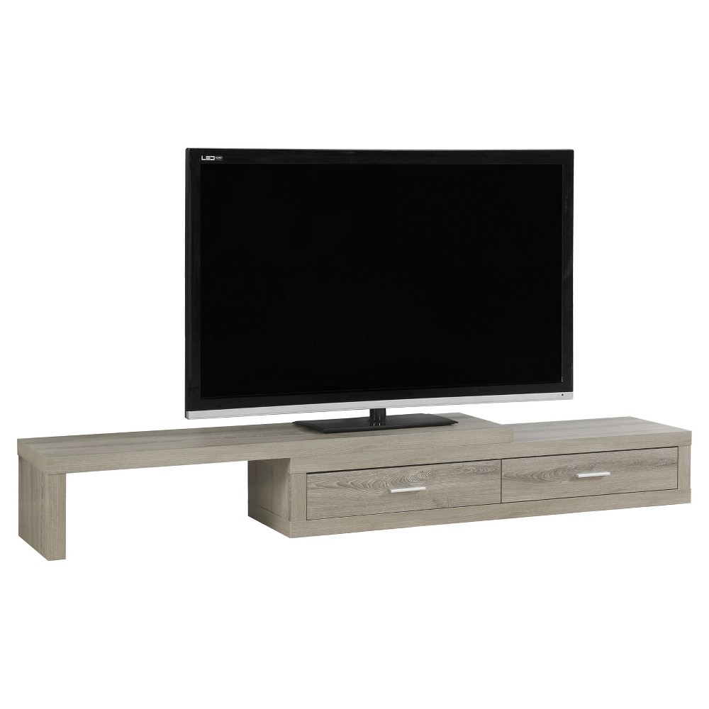 TV Stand - Expandable - Dark Taupe - EveryRoom