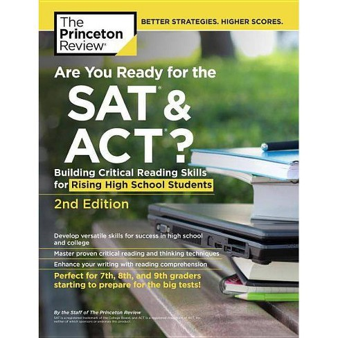 Are You Ready for the SAT and Act?, 2nd Edition - (College Test Preparation) by  The Princeton Review - image 1 of 1