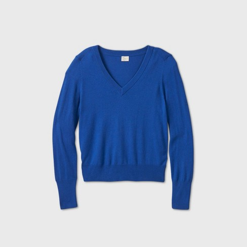 Women's V-Neck Pullover Sweater - A New Day™ - image 1 of 2