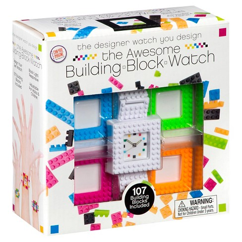 Toysmith Design Your Own Building Blocks Watch Kit - image 1 of 4