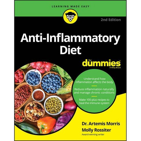 Anti-Inflammatory Diet for Dummies - 2nd Edition by  Artemis Morris & Molly Rossiter (Paperback) - image 1 of 1