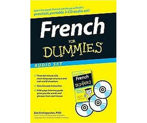 French for Dummies (CD/Spoken Word) (Zoe Erotopoulos) - image 1 of 1