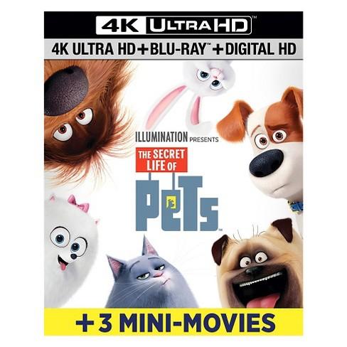 The Secret Life of Pets (4K/UHD + Blu-ray + Digital) - image 1 of 1