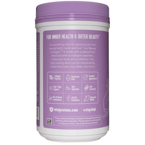 A Little Noticed Target In House Health >> Vital Proteins Beauty Collagen Powder Lavender Lemon 9oz Target